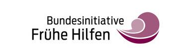 Logo Bundesinitiative Frühe Hilfen. Logo: Bayer. Staatsministerium für Arbeit und Soziales