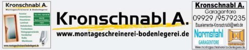 Logo Kronschnabl Bauelemente Montageschreinerei