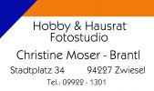 Moser Hobby und Hausrat Fotostudio Moser Logo