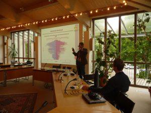 Workshop kleinräumige Bevölkerungsprognose. Foto: Landkreis Regen
