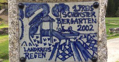 Siegermedaille 2002. Foto: Landkreis Regen, Eder