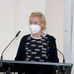 Nicole Herzog (Bündnis 90/Die Grünen) bei ihrer Haushaltrede. Foto: Bäumel