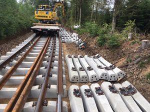 Die Gleisbauarbeiten starten bereits am Samstag, 14. August. Foto: DB Netz AG