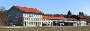 Grenzbahnhof in Bayerisch Eisenstein. Foto: Landkreis Regen, Müller Werner