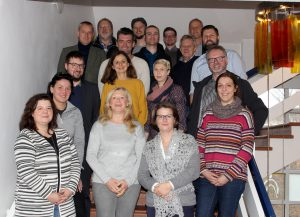Die Teilnehmer der Projektbeiratstreffen. Foto: Langer/Landkreis Regen