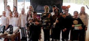 Die Grundschüler aus Bodenmais waren eine echte Programmbereicherung. Sie zeigten, dass Naturschutz auch Spaß machen kann.