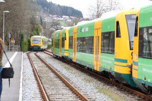 Waldbahn in Teisnach. Foto: Landkreis Regen, Langer