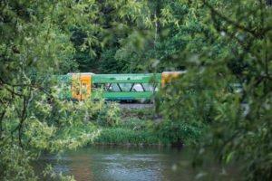 Mit Bayerwald-Ticket und GUTi lässt sich prima die Region erkunden. Mit der Waldbahn RB38 durch Bayerisch Kanada. Foto: Mediaatelier Bauernfeind