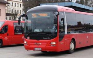 Im Landkreis Regen kommen Verstärkerbusse zum Einsatz. Foto: Langer/Landkreis Regen