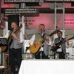 Die Bürgermeistermusi mit v.li. Joli Haller, Werner Blüml, Walter Nirschl, Fritz Schreder und Andreas Kroner spielte am Freitagabend auf.
