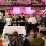 Nachdem die Waidler die Bürgermeistermusi hatten, zeigten die Hildesheimer Bürgermeister, dass sie singen können. Sie gaben unter anderem das Niedersachsenlied zum Besten.