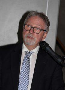 Eberhard Kreuzer hielt die Jahresabschlussrede. Foto: Langer/Landkreis Regen