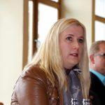 Josefa Schmid ist die einzige Vertreterin der FDP. Auch sie durfte sich zum Haushalt äußern.
