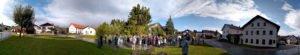 Der Dorfplatz wurde von den Einwohnern selbst gestaltet. Foto: Langer/Landkreis Regen