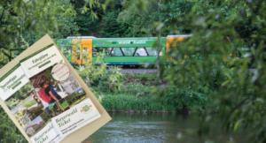 Mit Bayerwald-Ticket und GUTi lässt sich prima die Region erkunden. Mit der Waldbahn RB38 durch Bayerisch Kanada. Foto: Mediaatelier Bauernfeind.
