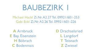 Baubezirk 1, Foto: Landkreis Regen