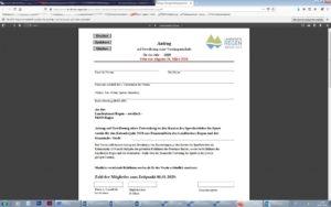 Die Anträge gibt es auf der Landkkreishomepage im Internet unter: http://www.landkreis-regen.de/sportfoerderung/. Screenshot: Langer/Landkreis Regen